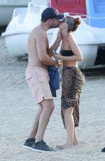 JENNIFER METCALFE in Bikini on the Beach in St. Tropez