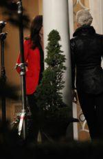 JENNIFER MORRISON on the Set of Once Upon a Time 08/26/2015