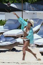 JESSICA ALBA in Bikini at a Beach in Cancun 08/15/2015