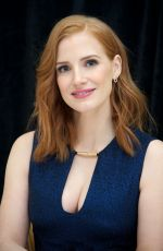 JESSICA CHASTAIN at The Martian Press Conference in New York