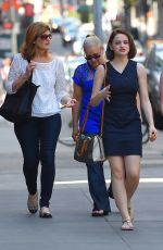 JOEY KING Out and About in Manhattan 08/02/2015
