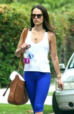 JORDANA BREWSTER Heading to a Gym in West Hollywood 08/20/2015