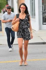 JORDANA BREWSTER Out and About in West Hollywood 08/06/2015