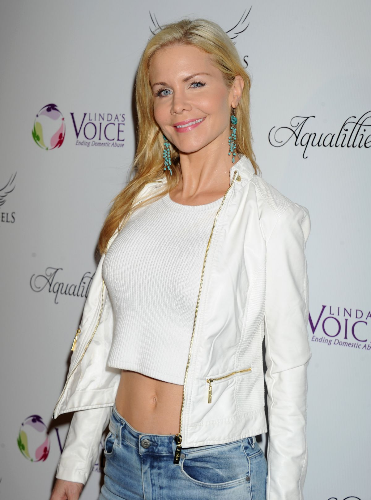 Josie Davis at BBQ and Bikinis Benefit