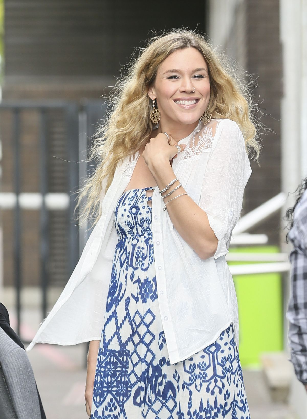 JOSS STONE at ITV Studios in London 08/05/2015