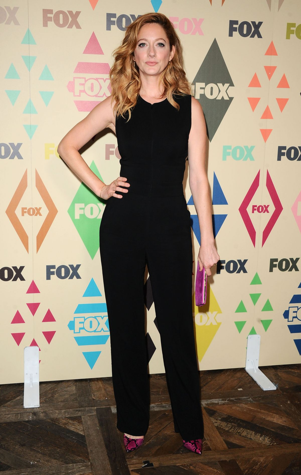JUDY GREER at Fox/FX Summer 2015 TCA Party in West Hollywood