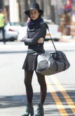 JULIA GOLDANI on the Set of The Affair in New York 08/27/2015