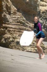 JULIA ROBERTS at a Beach in Malibu 08/18/2015