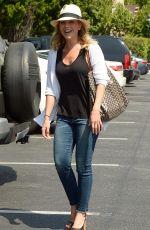 JULIE BENZ Arrives at Bristol Farms in Beverly Hills 08/20/2015