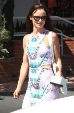 JULIETTE LEWIS Shopping at Fred Segal in West Hollywood 08/17/2015