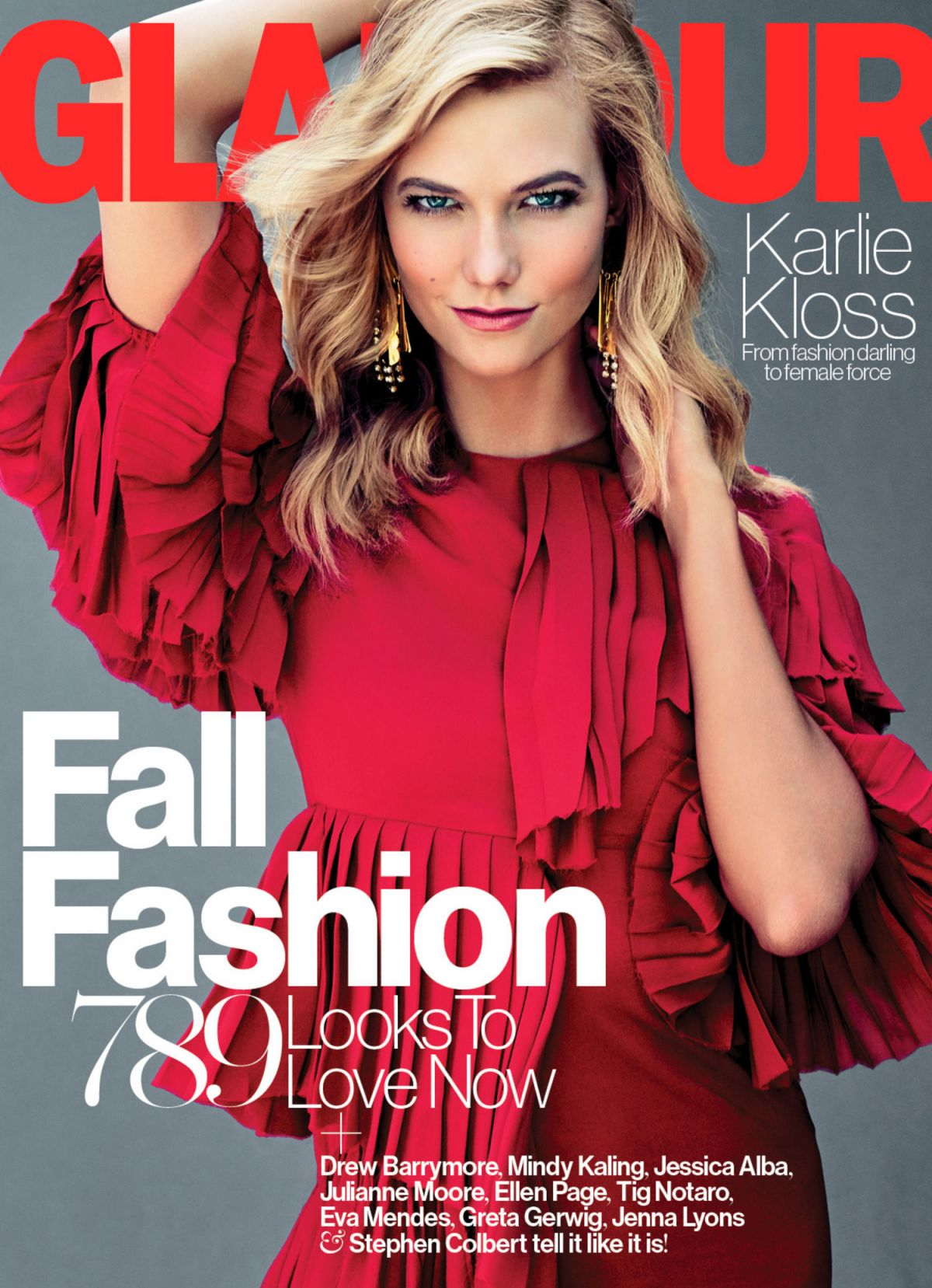 Karlie Kloss In Glamour Magazine September 2015 Issue