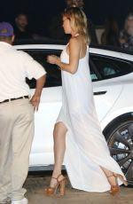KATE HUDON Arrives at Nobu Restaurant in Los Angeles 08/05/2015