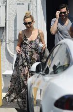 KATE HUDSON Leaves a Spa in West Hollywood 08/22/2015