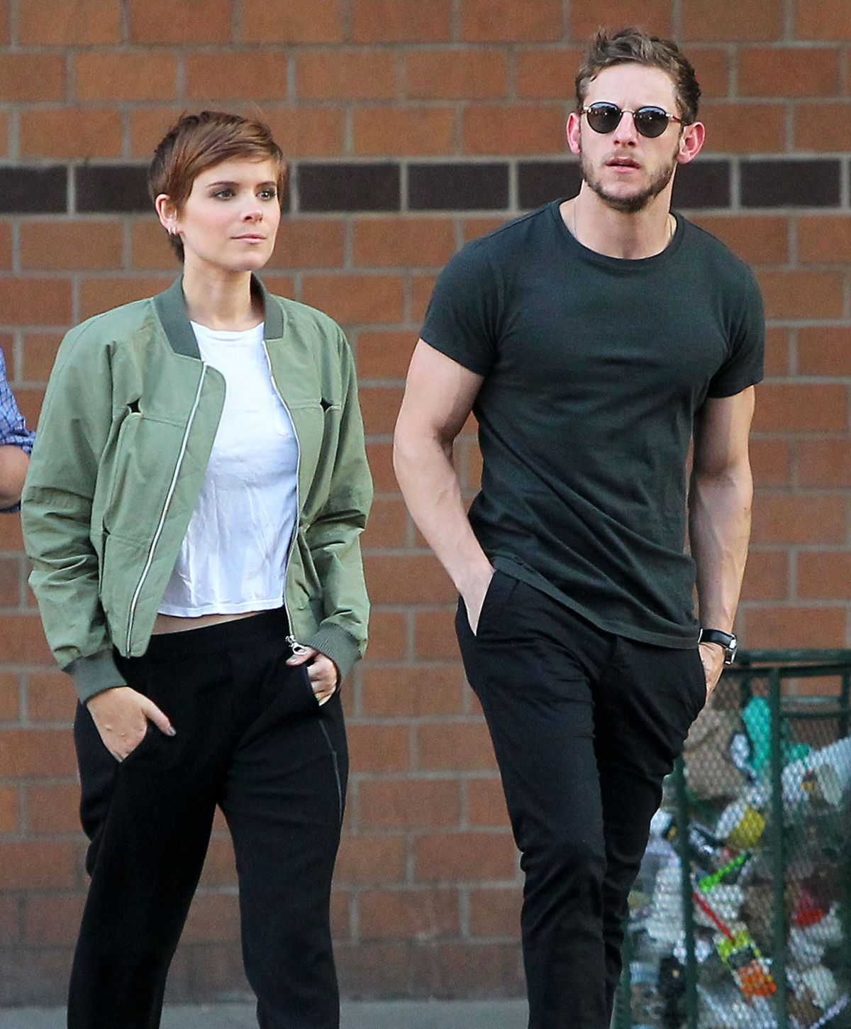 KATE MARA and Jamie Bell Out and About in New York 08/01/2015