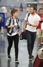 KATE MARA Arrives at JFK Airport in New York