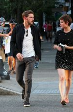 KATE MARA Out and About in New York 08/02/2015