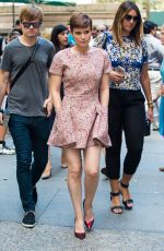 KATE MARA Out and About in New York 08/04/2015