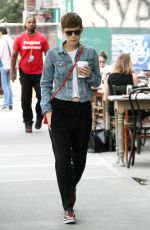 KATE MARA Out and About in New York 08/06/2015