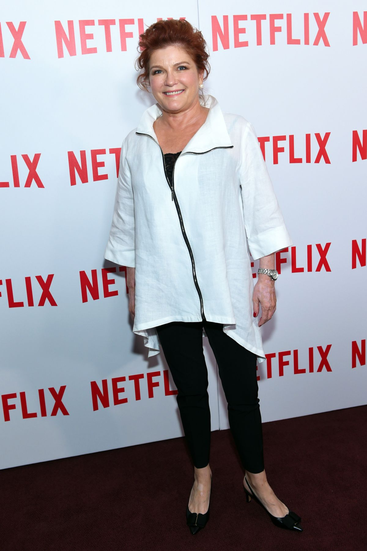 KATE MULGREW at Orange is the New Black Screening in New York