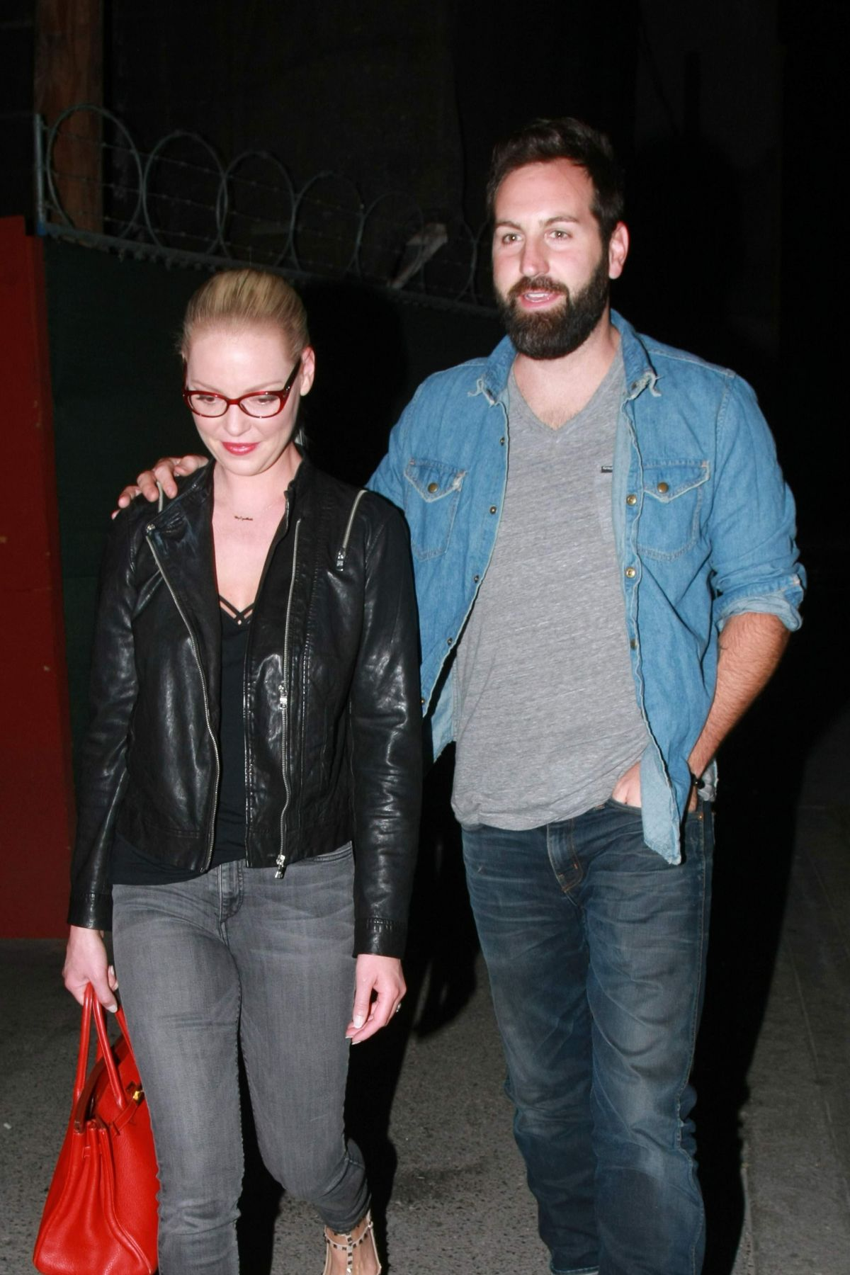 KATHERINE HEIGL Arrives at Hotel Cafe in Los Angeles 08/24/2015