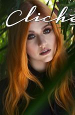 KATHERINE MCNAMARA in Cliche Magazine, August 2015 Issue