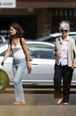KATIE HOLMES on the Set of All We Had in New York 08/12/2015
