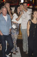 KATY PERRY Leaves Queen of the Night Dinner Theater in New York 08/29/2015