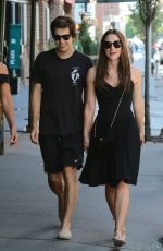KEIRA KNIGHTLEY Out and About in New York 08/26/2015
