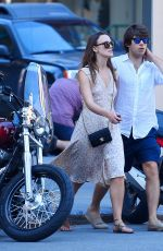 KEIRA KNIGHTLEY Out and About in New York 08/27/2015