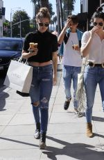 KENDALL JENNER and GIGI HADID Out and About in Beverly Hills 07/31/2015
