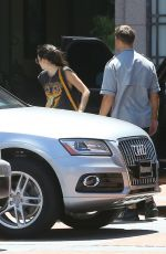 KENDALL JENNER Arrives at Four Seasons Hotel in Los Angeles 08/02/2015