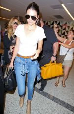 KENDALL JENNER at Los Angeles International Airport 08/06/2015