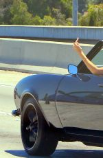 KENDALL JENNER Driving a Camaro Out in Beverly Hills 08/04/2015