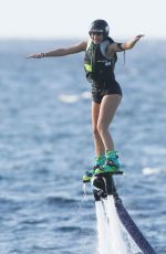 KENDALL JENNER Having Fun on Vacation in St. Barts 08/19/2015