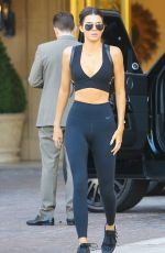KENDALL JENNER Heading to Sugarfish in Calabasas 08/11/2015