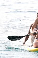 KENDALL JENNER in Bikini on Vacation in St. Barts 08/20/2015