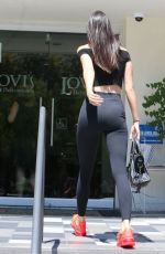 KENDALL JENNER Out and About in Calabasas 08/16/2015