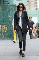 KENDALL JENNER Out and About in New York 08/30/2015