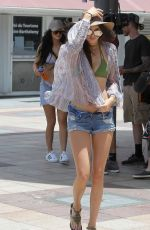 KENDALL JENNER Out and About in St.Barts 08/17/2015