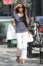 KERI RUSSELL Out and About in Brooklyn 08/03/2015