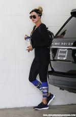 KHLOE KARDASHIAN Heading to a Gym in Beverly Hills 08/25/2015