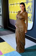 KIM KARDASHIAN at MTV Video Music Awards 2015 in Los Angeles