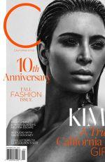 KIM KARDASHIAN in C Magazine, September 2015 Issue