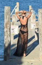 KIMBERLEY GARNER in Swimsuit at a Beach in St. Tropez 08/06/2015