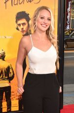 KIRBY BLISS BLANTON at We Are Your Friends Premiere in Los Angeles