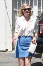 KIRSTEN DUNST Out for Lunch in Los Angeles 08/27/2015