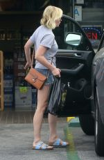 KIRSTEN DUNST Out Shopping in Los Angeles 08/25/2015