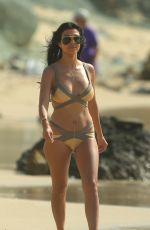 KOURTNEY KARDASHIAN in Bikini on Vacation in St. Barts 08/20/2015