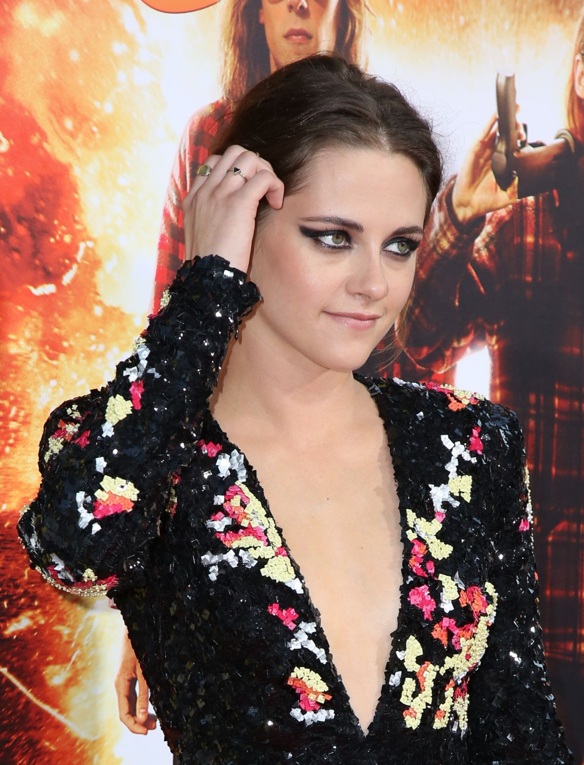 KRISTEN STEWART at American Ultra Premiere in Los Angeles