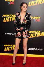 KRISTEN STEWART at American Ultra Premiere in Los Angeles